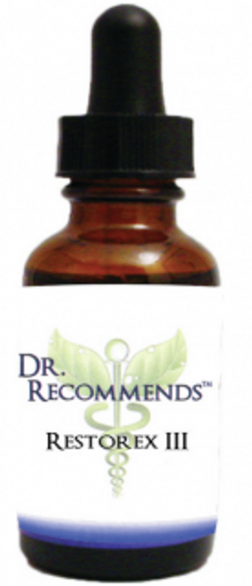 Dr. Recommends Restorex III 1 oz
