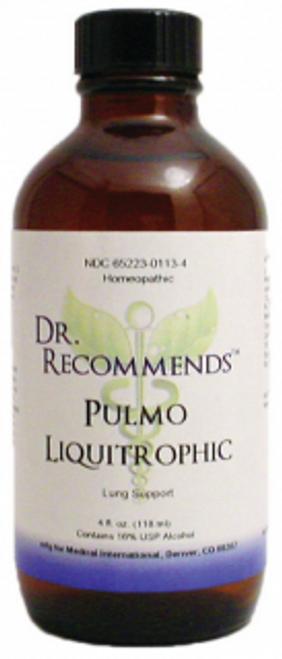 Dr. Recommends Pulmo Liquitrophic 4 oz