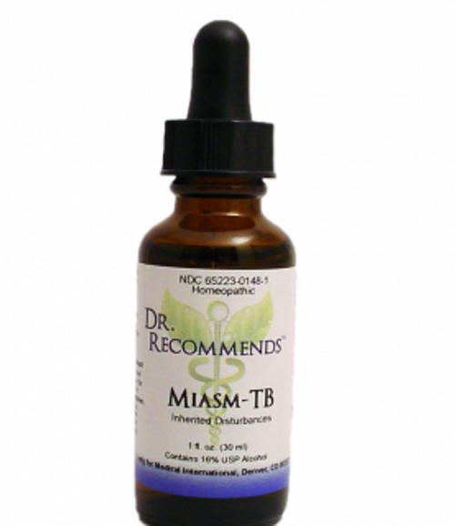 Dr. Recommends Miasm-TB 1 oz