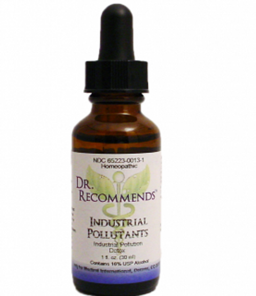 Dr. Recommends Industrial Pollutants 1 oz