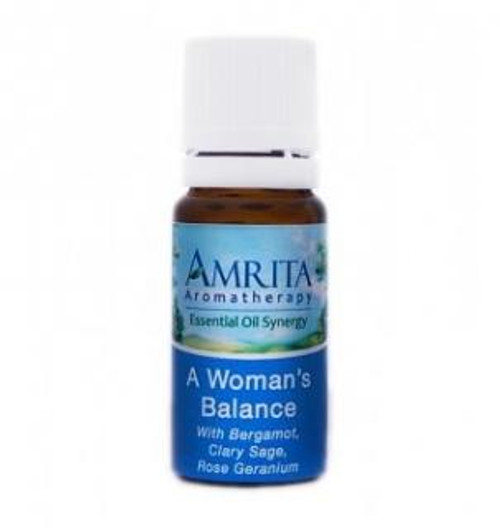 Amrita Aromatherapy A Woman's Balance Synergy Blend 10 ml