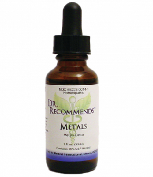 Dr. Recommends Metals 1 oz