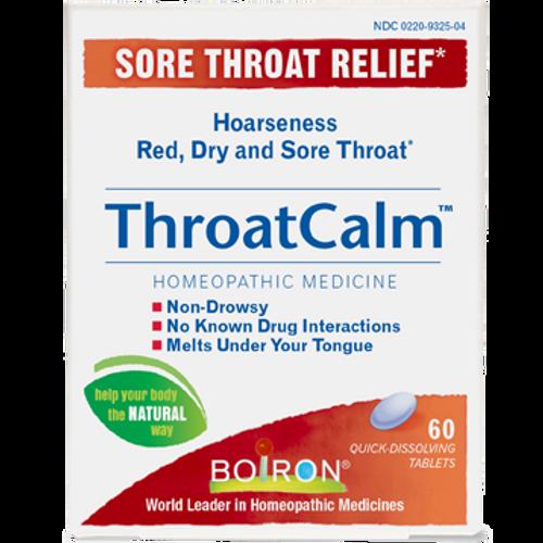 Boiron ThroatCalm 60 tabs