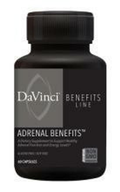 Davinci Labs ADRENAL BENEFITS 60 capsules