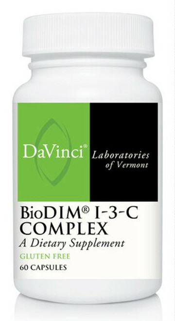 Davinci Labs BIODIM® I-3-C COMPLEX 60 capsules