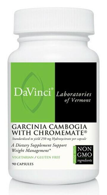 Davinci Labs GARCINIA CAMBOGIA WITH CHROMEMATE® 90 capsules
