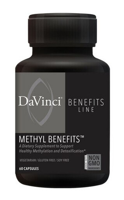 Davinci Labs METHYL BENEFITS 60 capsules