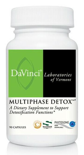 Davinci Labs MULTIPHASE DETOX* 90 capsules