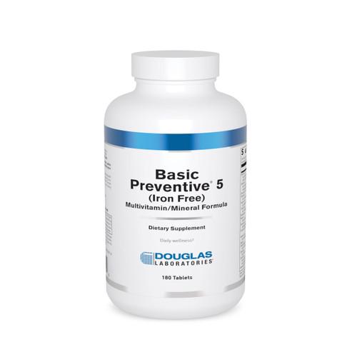 Douglas Labs Basic Preventive 5 180 tabs