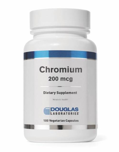 Douglas Labs Chromium 200 MCG 100 capsules