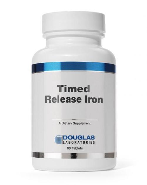 Douglas Labs Iron Time Released 90 tabs