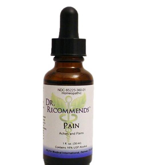 Dr. Recommends Pain 1 oz