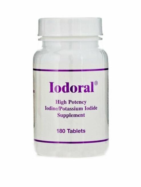 Iodoral High potency iodine/potassium iodide supplement containing 12.5mg iodine/iodide  180 tab