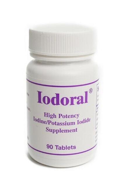 Iodoral High potency iodine/potassium iodide supplement containing 12.5mg iodine/iodide  90 tablets