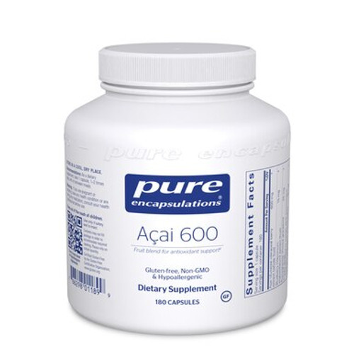 Pure Encapsulations Açai 600 180 capsules