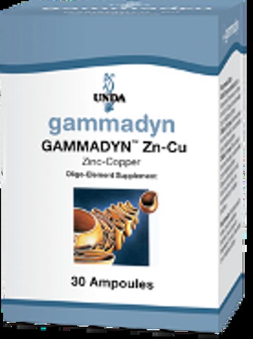 UNDA Gammadyn Zn-Cu (zinc-copper) 30 ampoules