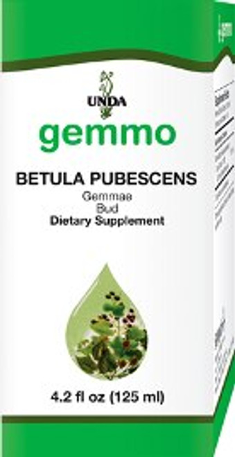 UNDA Gemmotherapy Betula Pubescens bud (White Birch bud) 4.2 fl oz (125 ml)