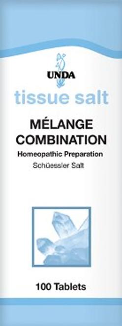 UNDA Schuessler Tissue Salts Melange (Combination) 100 tabs