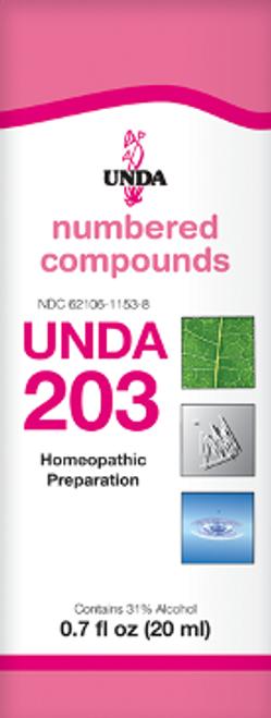 UNDA #203 0.7 fl oz (20 ml)