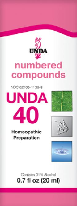 UNDA #40 0.7 fl oz (20 ml)
