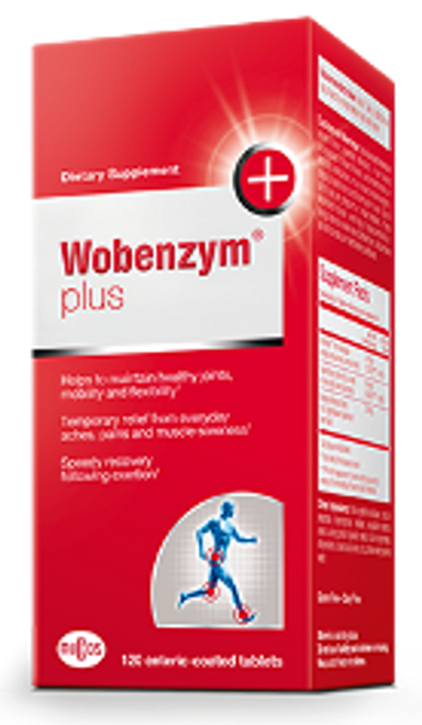Wobenzym Plus 120 enteric-coated tablets