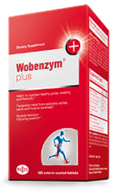 Wobenzym Plus 480 enteric-coated tablets