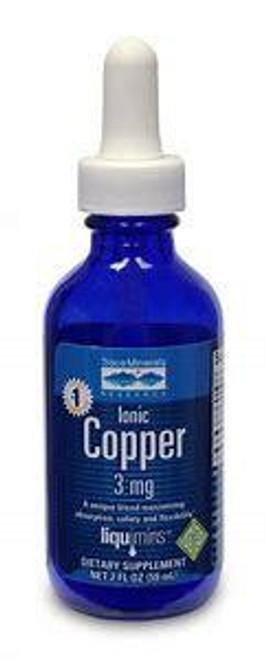 Trace Minerals Liquid  Ionic Copper 2 oz