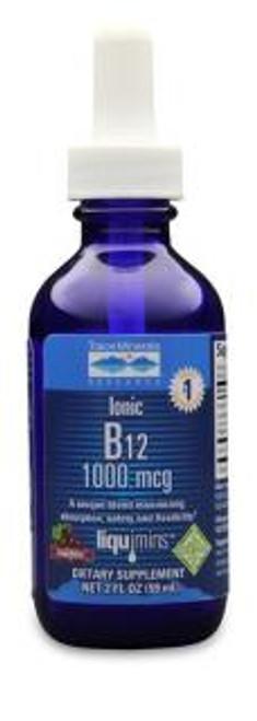 Trace Minerals Liquid Ionic B12 2 oz