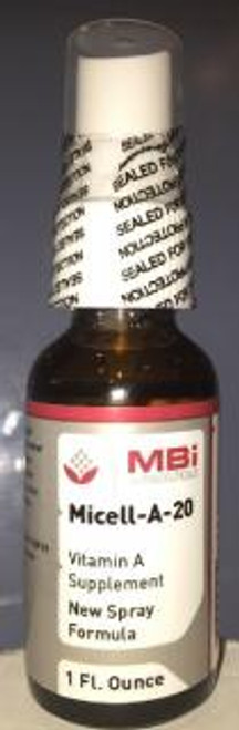 MBi Nutraceuticals Micell-A-20,000 IU/spray 1oz.
