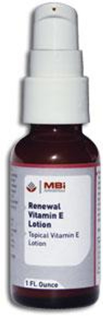 MBi Nutraceuticals Renewal Vitamin E Lotion 1 oz.