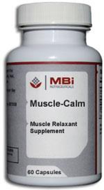 MBi Nutraceuticals Muscle-Calm 180 Capsules