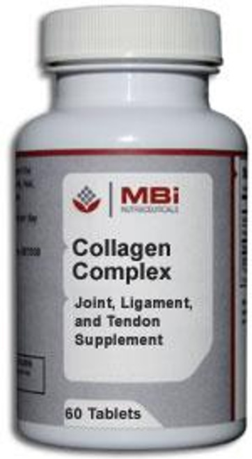 MBi Nutraceuticals Collagen Complex 120 Tablets