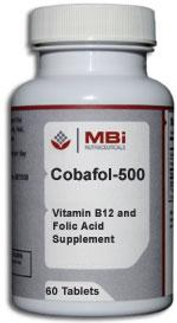 MBi Nutraceuticals Cobafol-500 SL 60 Tablets