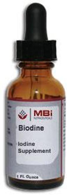 MBi Nutraceuticals Biodine 150 mcg 1 oz.