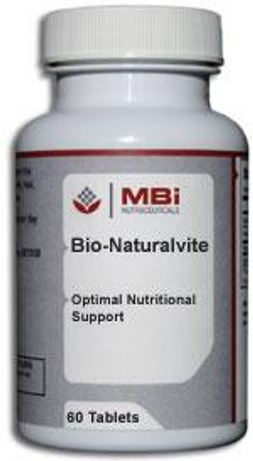 MBi Nutraceuticals Bio-Naturalvite 120 Tablets