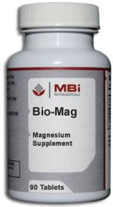 MBi Nutraceuticals Bio-Mag Magnesium 100mg 90 Tablets