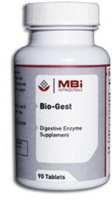 MBi Nutraceuticals Bio-Gest Upper GI Aid 180 Capsules