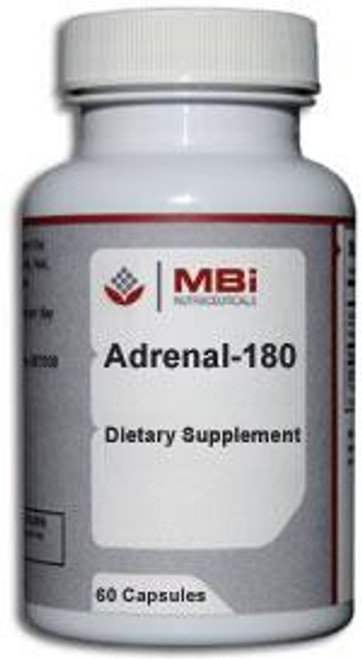 MBi Nutraceuticals Adrenal 180mg Glandular Tissue Concentrate 180 Capsules