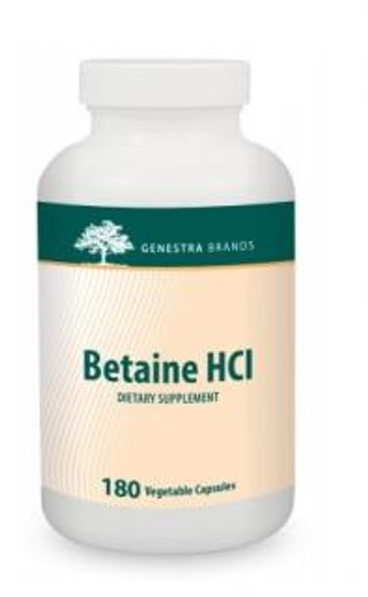 Genestra Betaine HCL 180 capsules