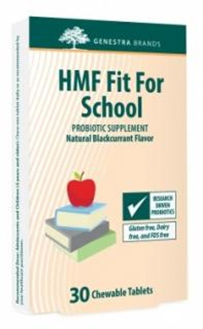 Genestra HMF Fit For School 30 count