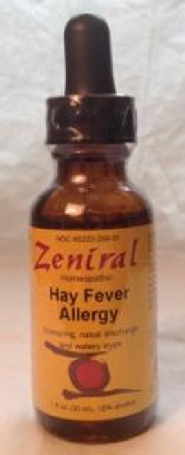 Zeniral Hay Fever Allergy 1 oz