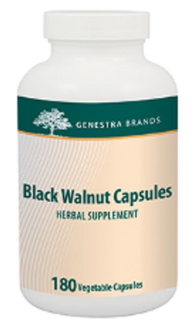 Genestra Black Walnut Capsules 180 Vegetable Capsules