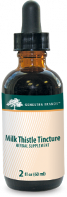 Genestra Milk Thistle tincture  2 fl oz (60 ml)