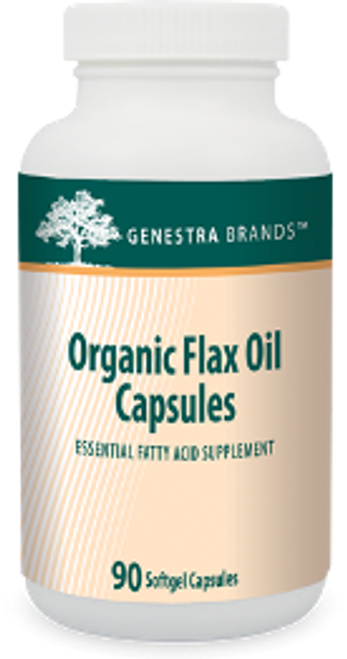 Genestra Organic Flax Oil Capsules 90 Softgels