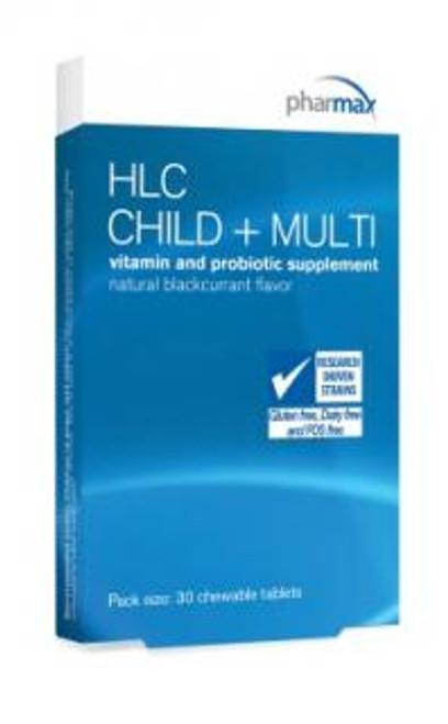 Pharmax HLC Child Plus Multi 30 Tablets