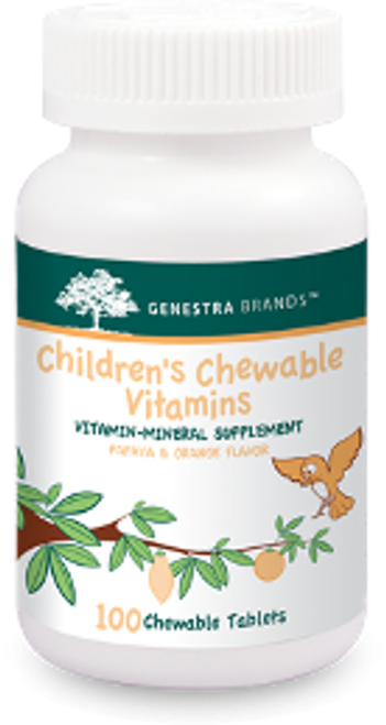 Genestra Children's Chewable Vitamins 100 Chewable Tablets