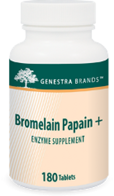 Genestra Bromelain Papain + 180 Tablets