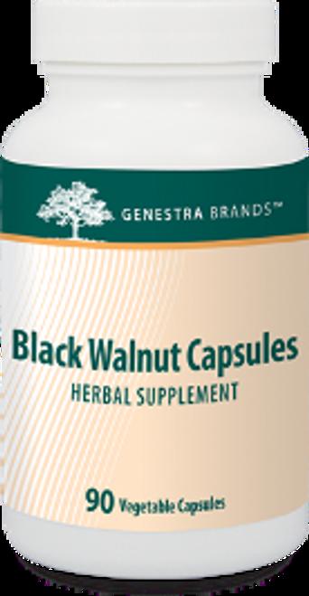 Genestra Black Walnut Capsules 90 Vegetable Capsules