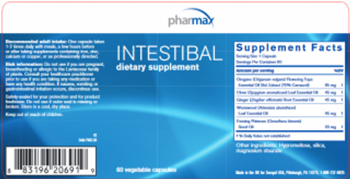 Pharmax Intestibal 60 caps (formerly pyloricin)