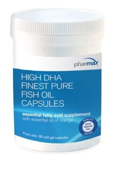 Pharmax DHA Finest Pure Fish Oil 90 soft gels